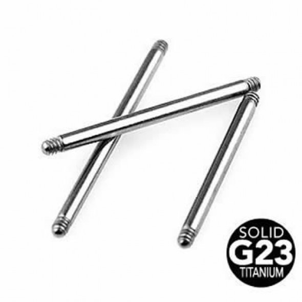 G23 Titanium Straight Barbell Pins
