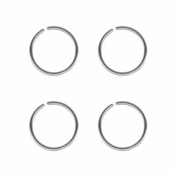 Surgical Steel Nose Hoop Rings