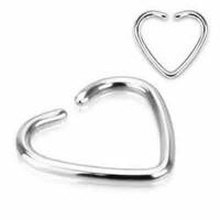 Heart Shape Cartilage Tragus Rings