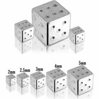 Surgical Steel Dice Body Jewelry Parts