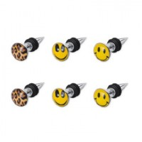 Picture Logo Fake Taper Plugs Faux Ear Plugs