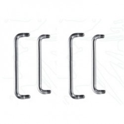 Surgical Steel 90 Degree Staple Surface Barbell Pins