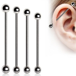 Surgical Steel Industrial Barbells with Balls