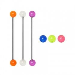 Glow-in-dark Acrylic UV Balls Industrial Barbells