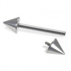 Internally Threaded Cone Straight Barbells