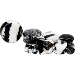 Zebra Jasper Double Flare Stone Plugs