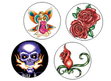 Body Jewelry Picture Logo Chart A